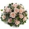 Biedermeier rozen en gips