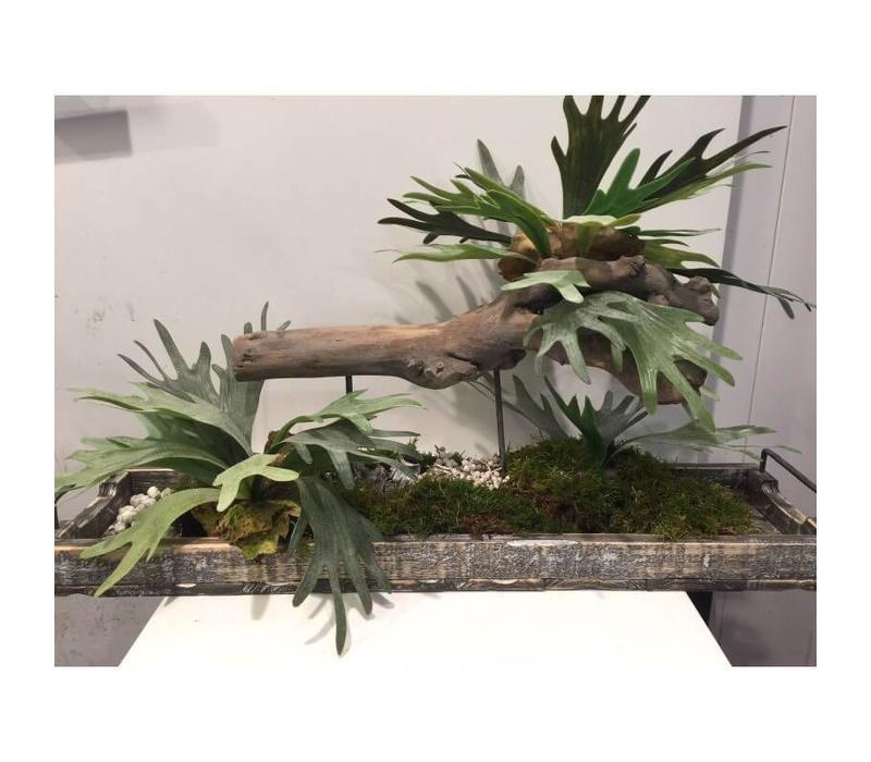 Decoratiestuk hout