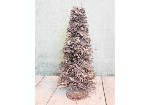 Glitter kerstboom klein
