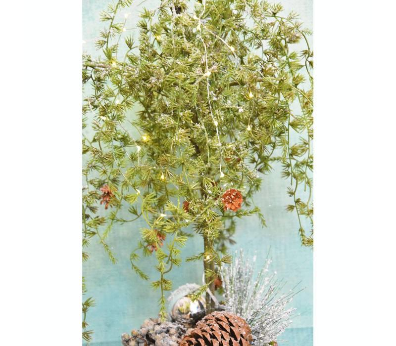 Zijdestuk kerstboom