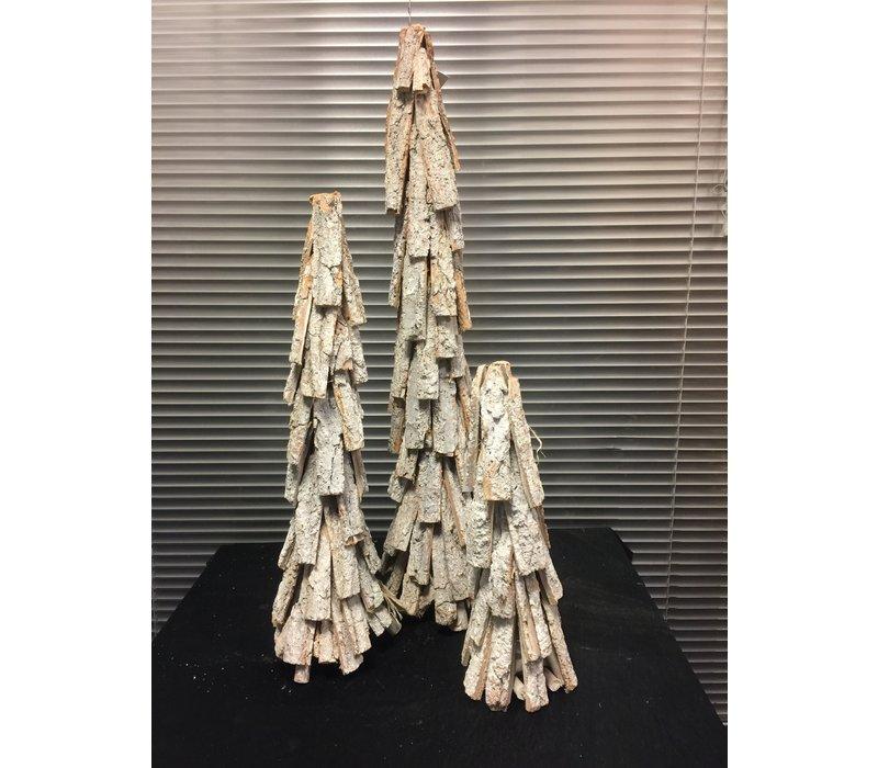 SET Houten, decoratieve kerstbomen