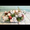 Kerststuk glazen schaal