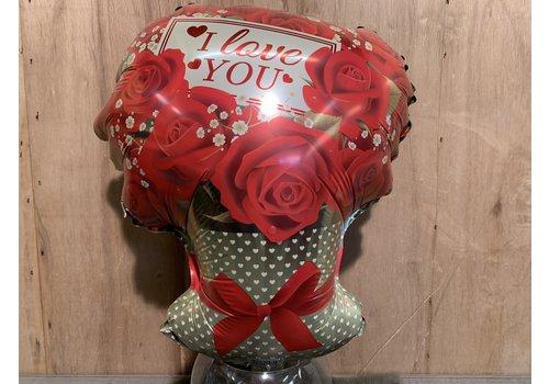 Ron Valentijns ballon ''I love you''