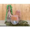 Ron Handgeblazen, glazen deco vazen