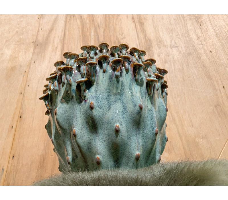 Mushroom pot groen