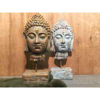 Buddha hoofd op standaard