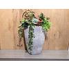 Ron Decoratieve vaas opgevuld met kunstplanten