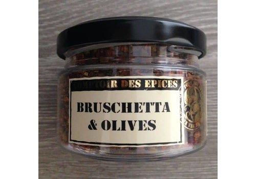 Le Comptoir des épices Bruschetta aux olives