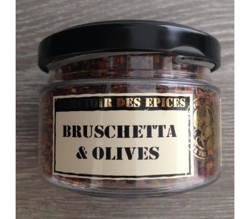 Bruschetta aux olives