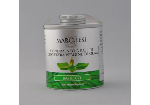 Marchesi Huile d'olive au basilic 100ml