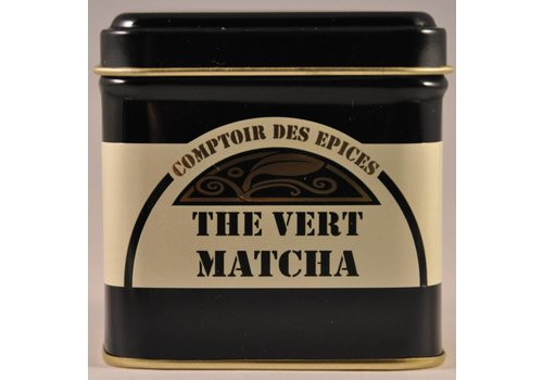 Le Comptoir des épices Matcha Thee - fijngemalen groene thee