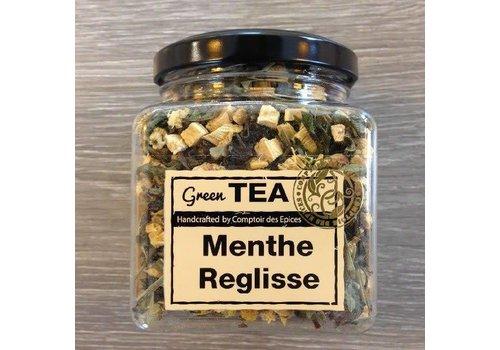 Le Comptoir des épices Thé vert à la menthe & réglisse