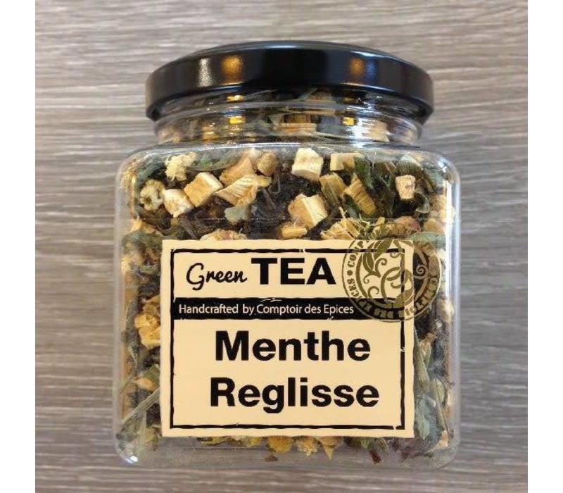 Groene thee met munt & zoethout