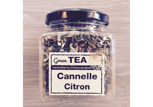 Le Comptoir des épices Groene thee kaneel & citroen