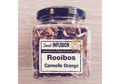 Le Comptoir des épices Thé Rooibos aux oranges sanguines et cannelle