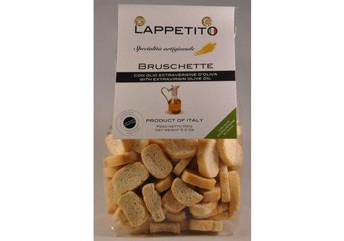 Lappetito Bruschette met olijfolie