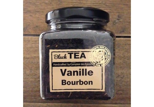Le Comptoir des épices Thé noir à la vanille bourbon