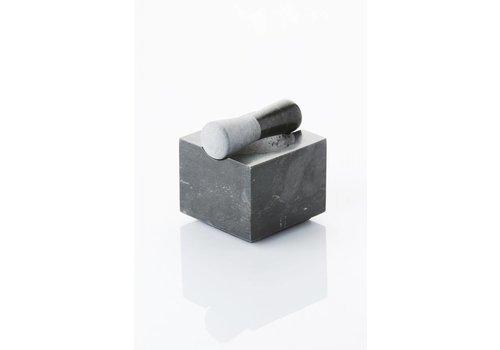 Mortier carré en marbre