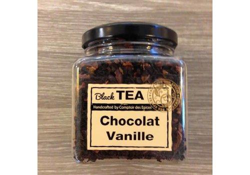 Le Comptoir des épices Zwarte thee met chocolade en vanille
