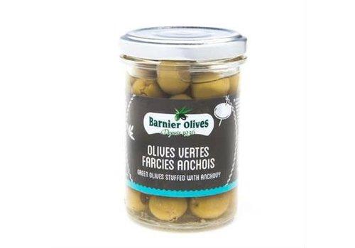 Barnier Olives Olives Vertes Farcies Anchois