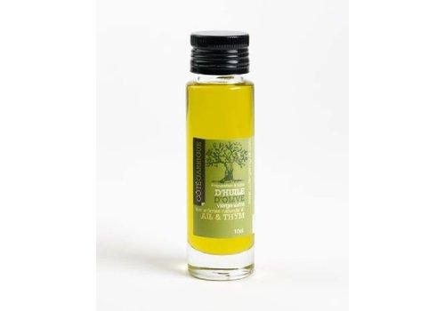 Côté Garrigue Huile d'olive Ail & Thym 10cl