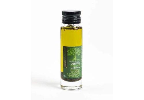 Côté Garrigue Huile d'olive au Basilic 10cl