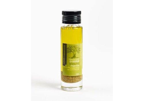 Côté Garrigue Huile d'olive au citron 10cl