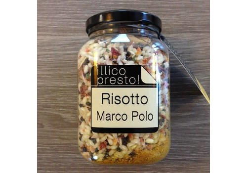 Illico Presto Risotto Marco Polo met curry