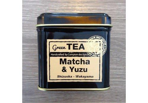 Le Comptoir des épices Matcha & Yuzu Thé