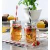 Kilner Set de verres, couvercles et pailles Kilner