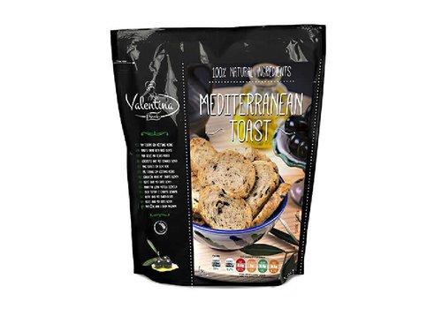 Toast Méditerranéen aux Olives Noires