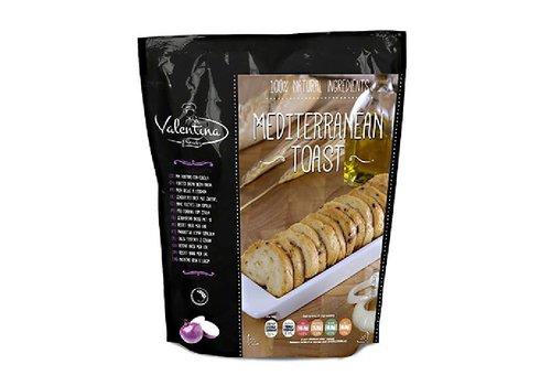 Mediterraanse Toast met ajuin