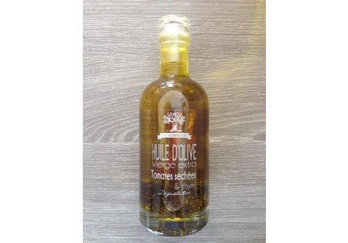 Côté Garrigue Huile d'olive aux tomates séchées et thym