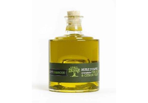 Côté Garrigue Bas d'huile d'olive ciboulette et citron vert