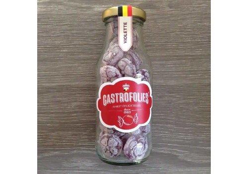 Gastrofollies Violettes en bouteille