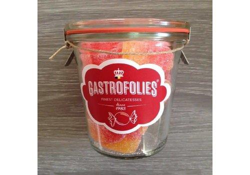 Gastrofollies Pêches en bocal