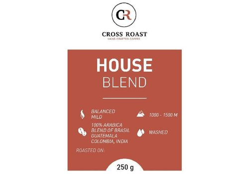Cross Roast Houseblend Gemalen