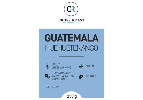 Cross Roast Café en Graines Huehuetenango