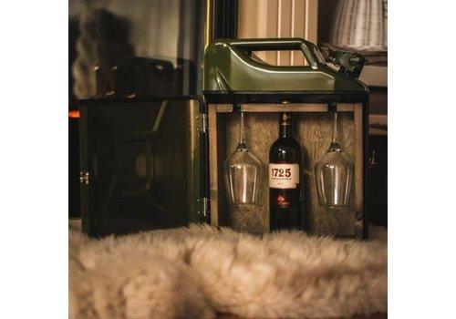 Bar à Vin Jerrycan Noir