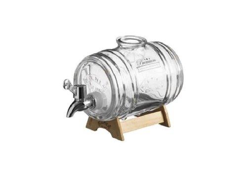 Kilner Distributeur de boissons Barrel 1L