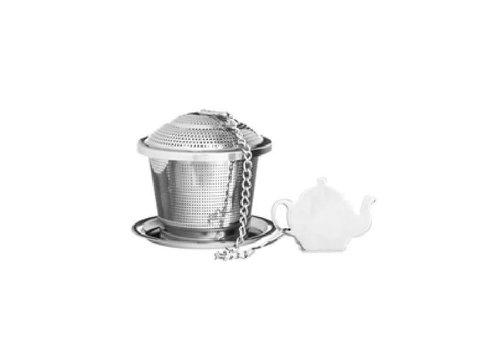 Price & Kensington Infuseur à thé avec soucoupe