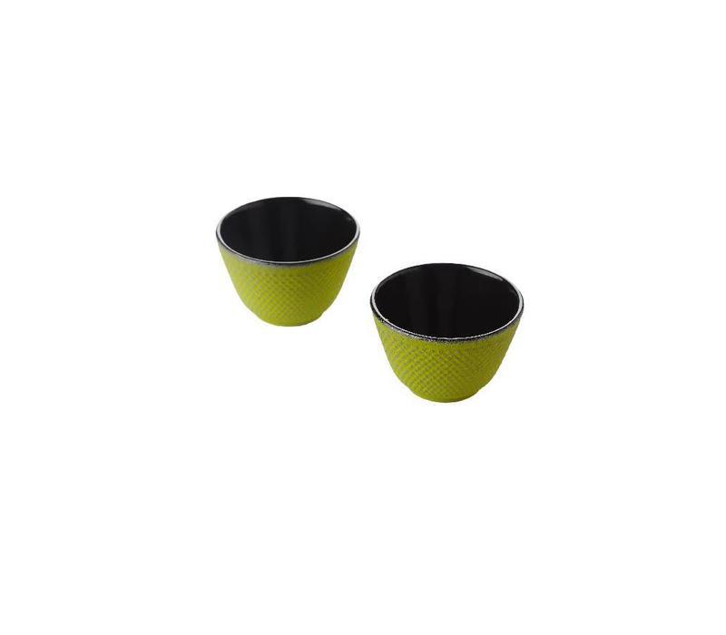 Set De 2 Tasses à Thé, Vert