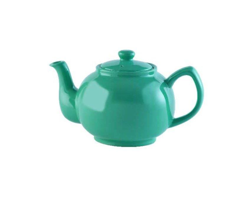 Théière Vert Jade Brillant 6 tasses 1.1L