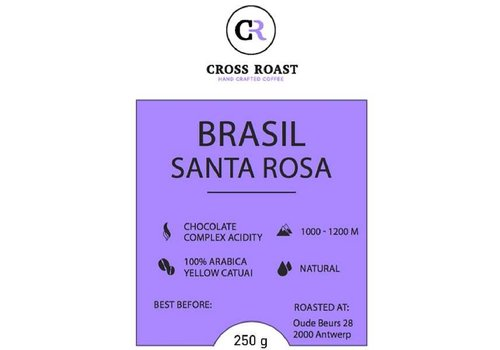 Cross Roast Café en Grains Brasil Santa Rosa
