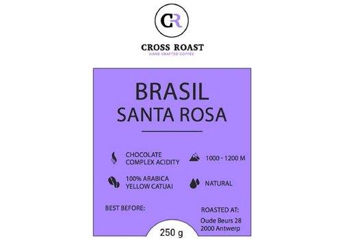 Cross Roast Gemalen Koffie Brasil Santa Rosa