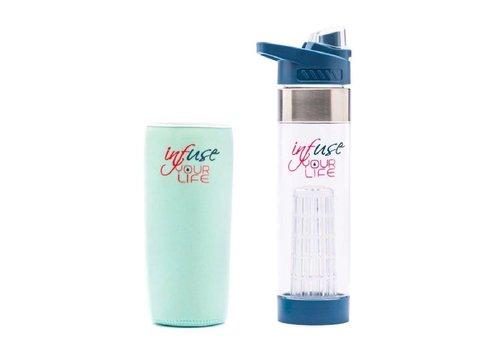 Water infuser Blauw
