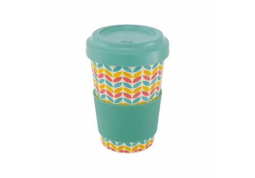 Point Virgule Travel Mug 'Leaf'
