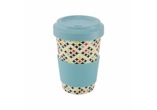 Point Virgule Tasse de voyage 'Checked'