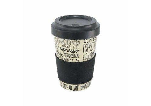 Point Virgule Tasse de voyage 'Coffee'