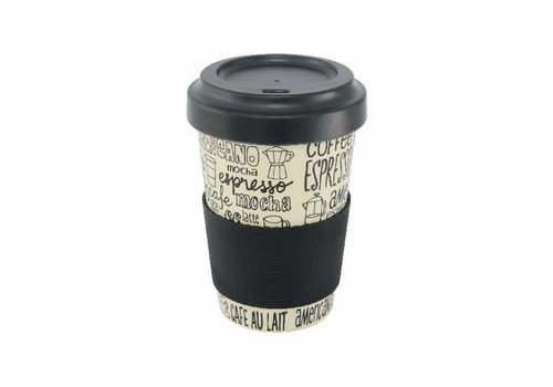 Point Virgule Travel Mug 'Coffee'